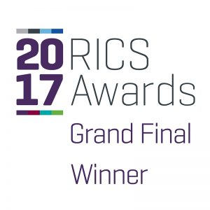 RICS awards 2017 grand final winner logo
