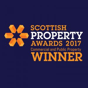 Scottish property awards 2017 commercial and public property winner logo