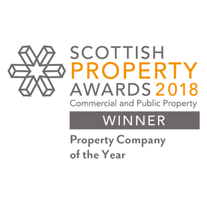 The Scottish Property Awards Winner 2018 logo